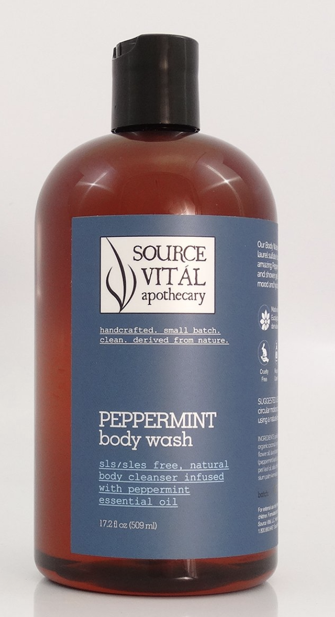 Source Vital Apothecary Peppermint body wash
