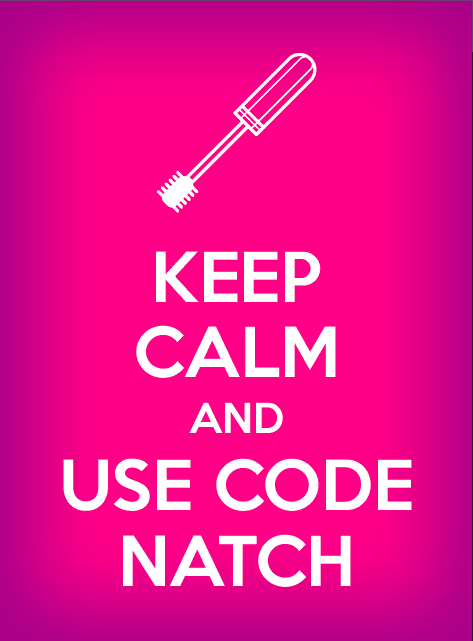 Keep calm and use code NATCH.