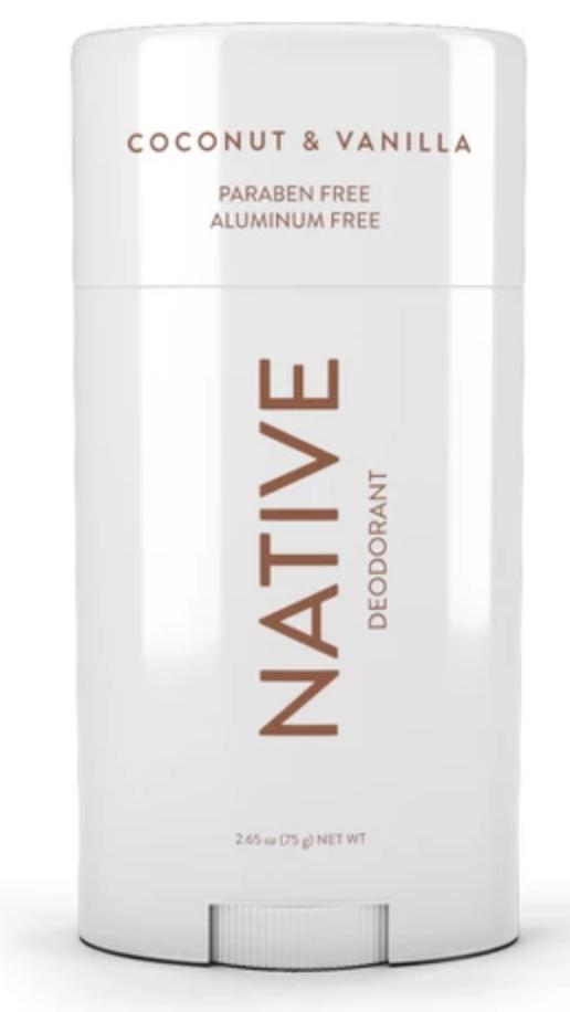 Native deodorant coconut vanilla