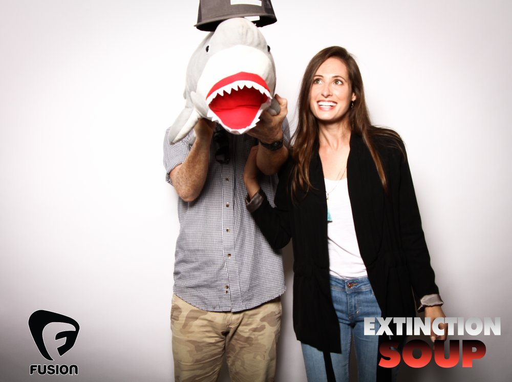Photo booth fun with shark 7