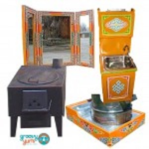 Accessories  - Groovy Yurts has a wide variety of accessory parts to make your yurt more comfortable. What is available:– SinkDresser: $350– Winter Stove: $270– Summer Stove: $220                                     – Stove Base: $175– Tryptic Mirror: $65