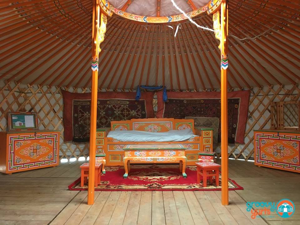 Authentic Mongolian furniture