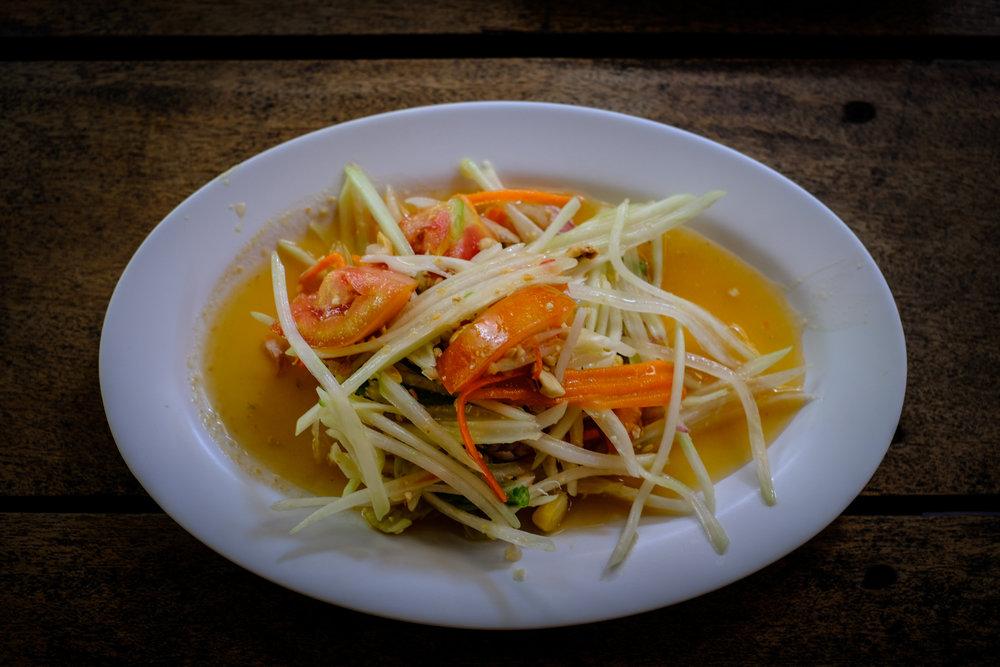 Som Tam salad (Thai style)