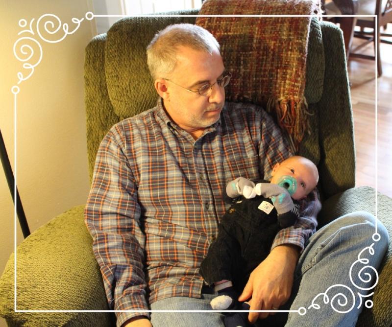 My Hon- & My Grandson!