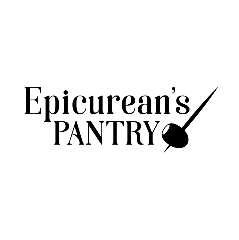 Epicurean's Pantry   In 2008, I designed the logo for specialty food and wine retailer Epicurean's Pantry. Ten years later, the client and I worked together to update the logo, replacing the original script and emphasizing the iconic olive.