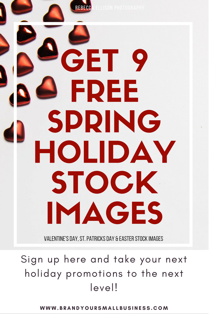 Get 9 free stock images to use for your content marketing and your next business promotion. Spring Holiday Stock Images for free.  www.brandyoursmallbusiness.com  - Small business marketing strategies