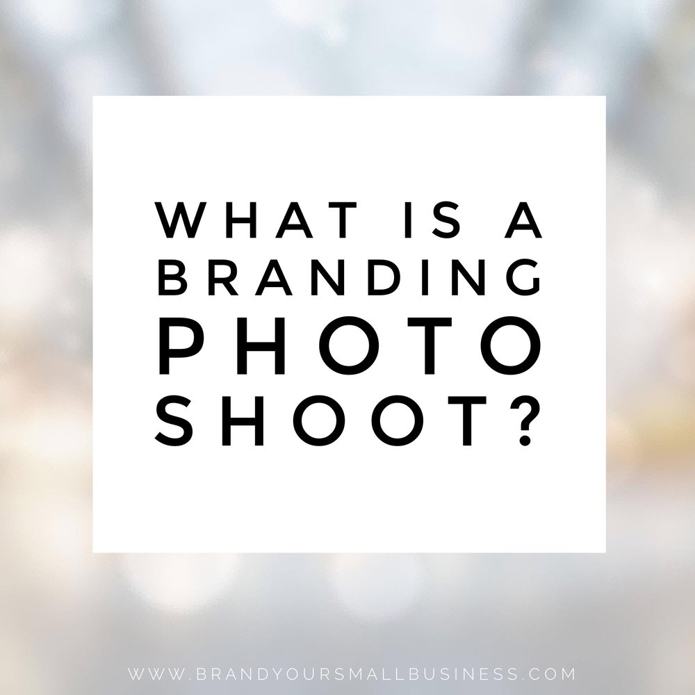 what is a brand photo shoot?