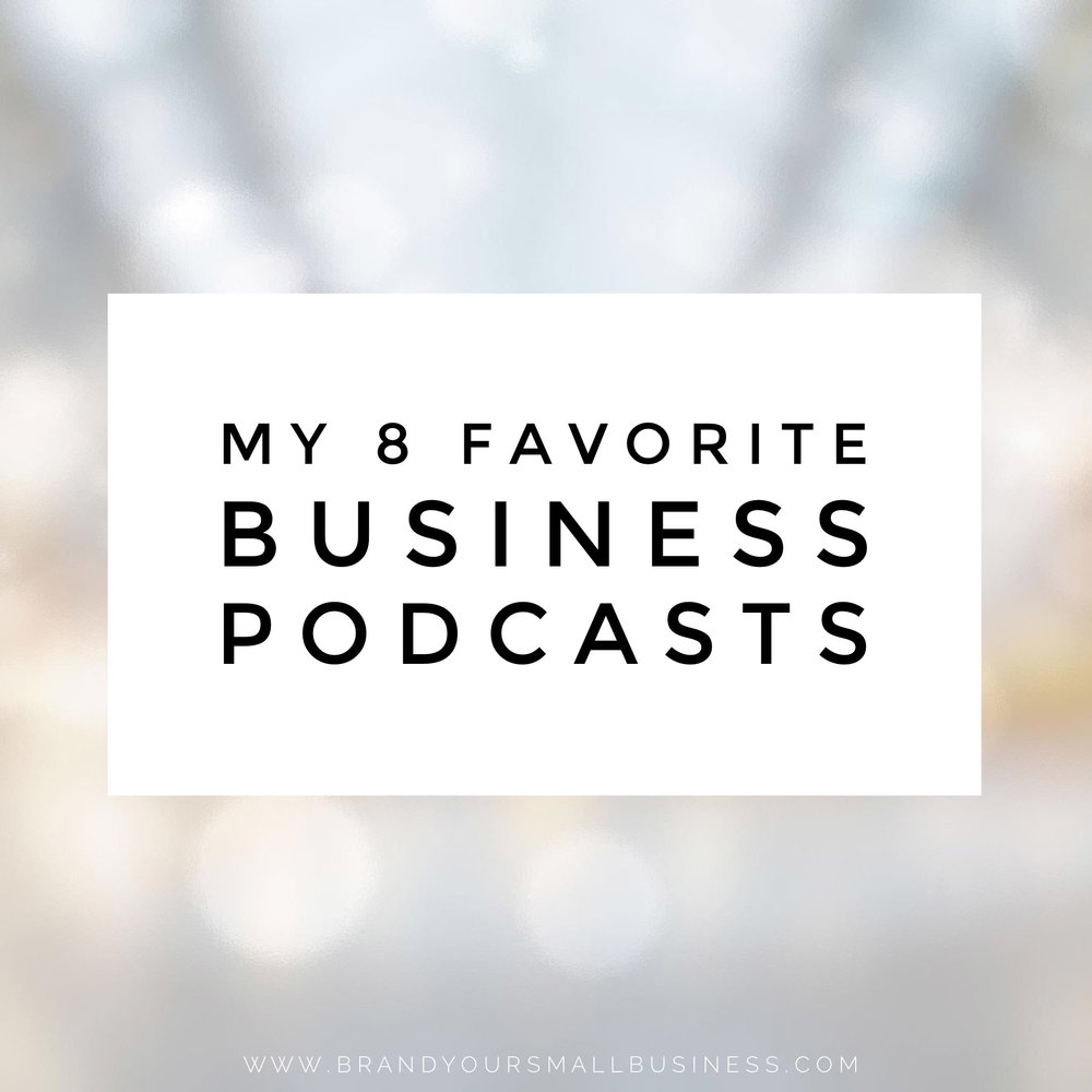 Favorite 8 small business podcasts