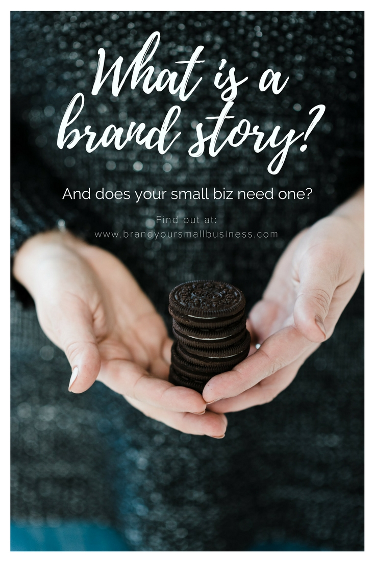 What is a brand story? And does your business need one? #branding #brandstory #marketing #smallbusiness #businesstips  #webisteupdate