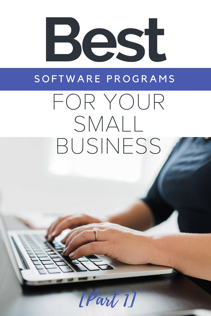 the best software programs for your small business to be efficiant