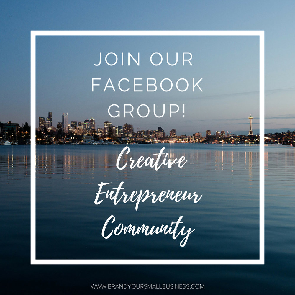 Creative Entrepreneur Community Facebook Group