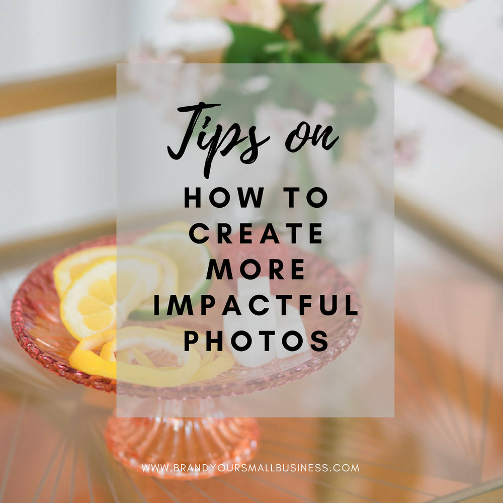 Tips on how to create more impactful photos on instagram and other social media feeds