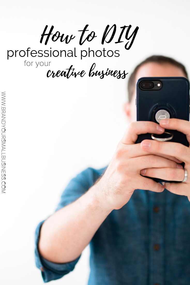 How to DIY professional photos for your creative business. Beginner photography tips for creative businesses for Instagram and website