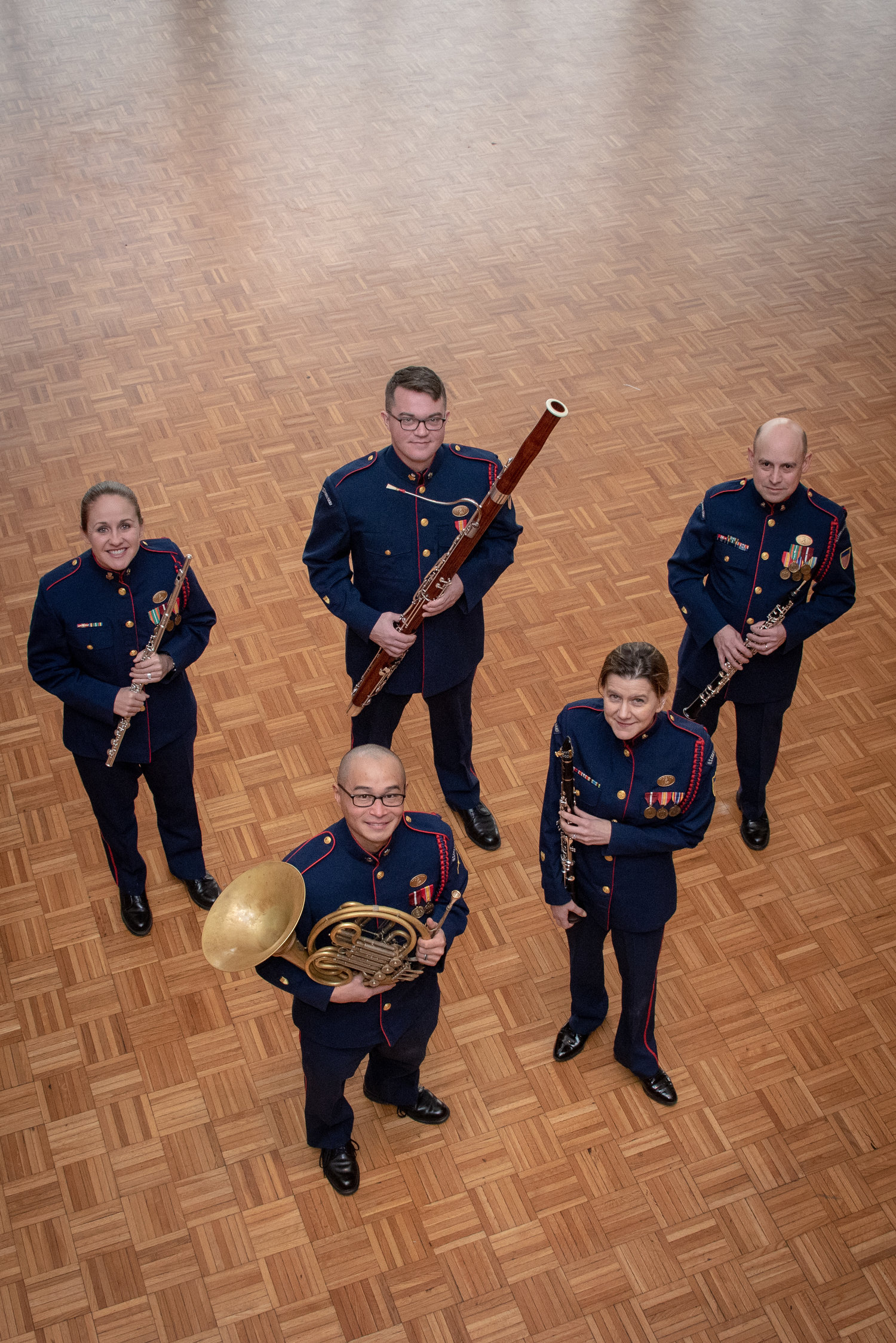 2f0e716a9f8 U.S. Coast Guard Woodwind Quintet — Music Center of the Northwest