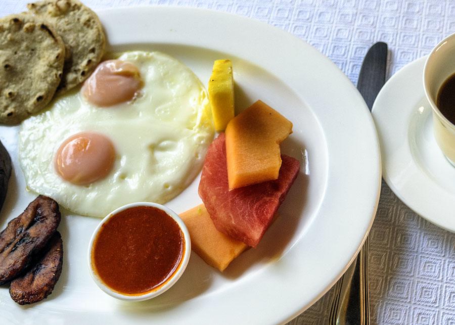 Guatemalan Breakfast, Antigua, Guatemala, 2011