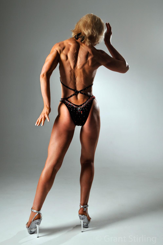 Female body builder