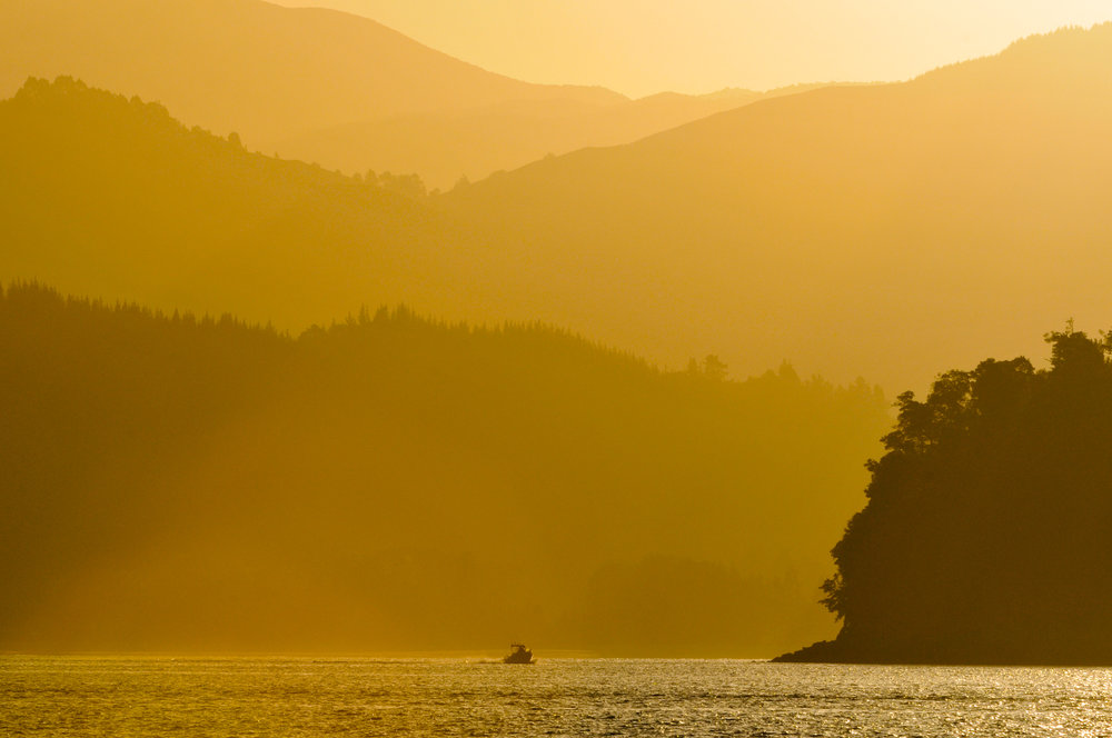 Marahau sunset