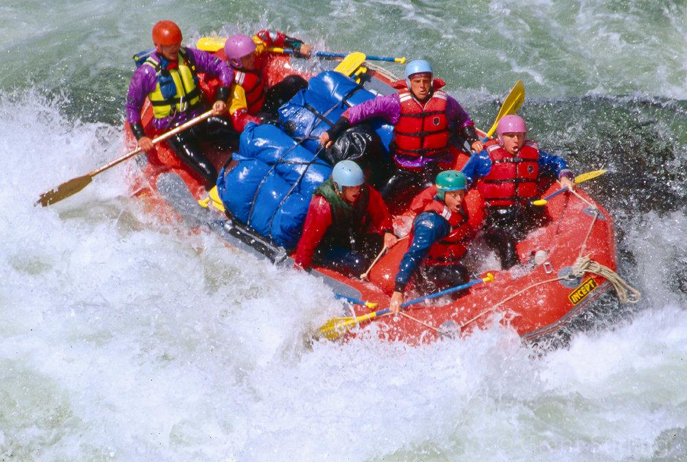 Rafting Karamea River