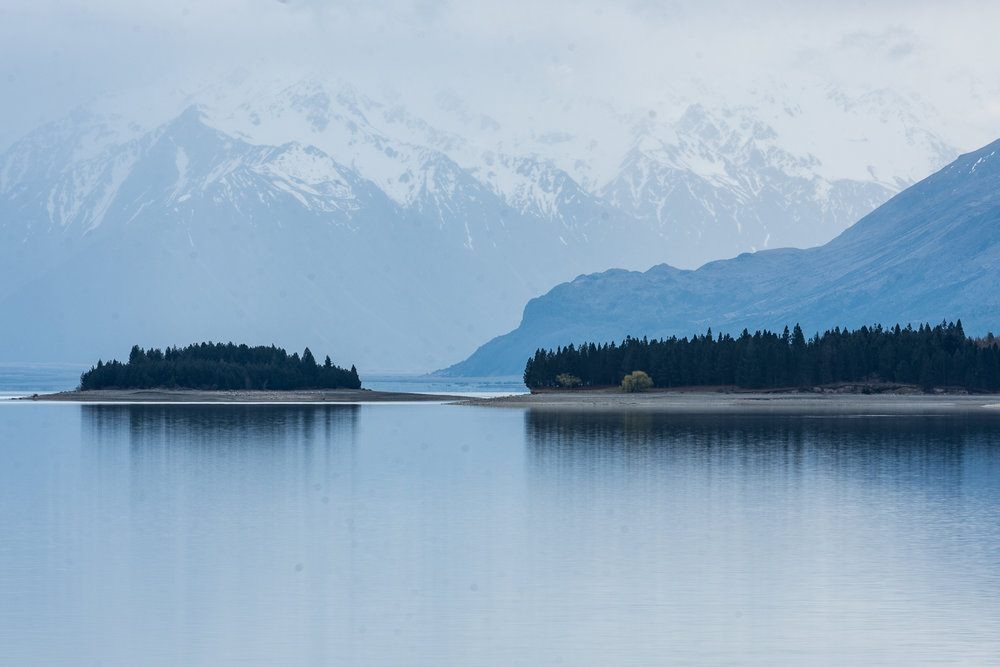 Lake Pukaki and Tasman Valley Central Otago New Zealand