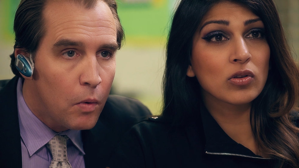 Ryan Kitley and Minita Gandhi in Other People's Children, courtesy of Lion and Mouse Productions.