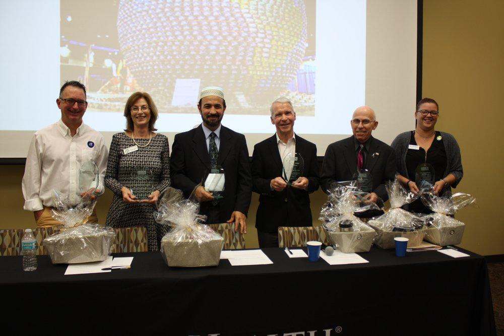 2018 Peace Award Recipients