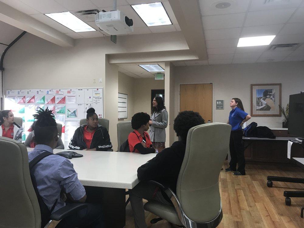 Youth visiting Orlando Health