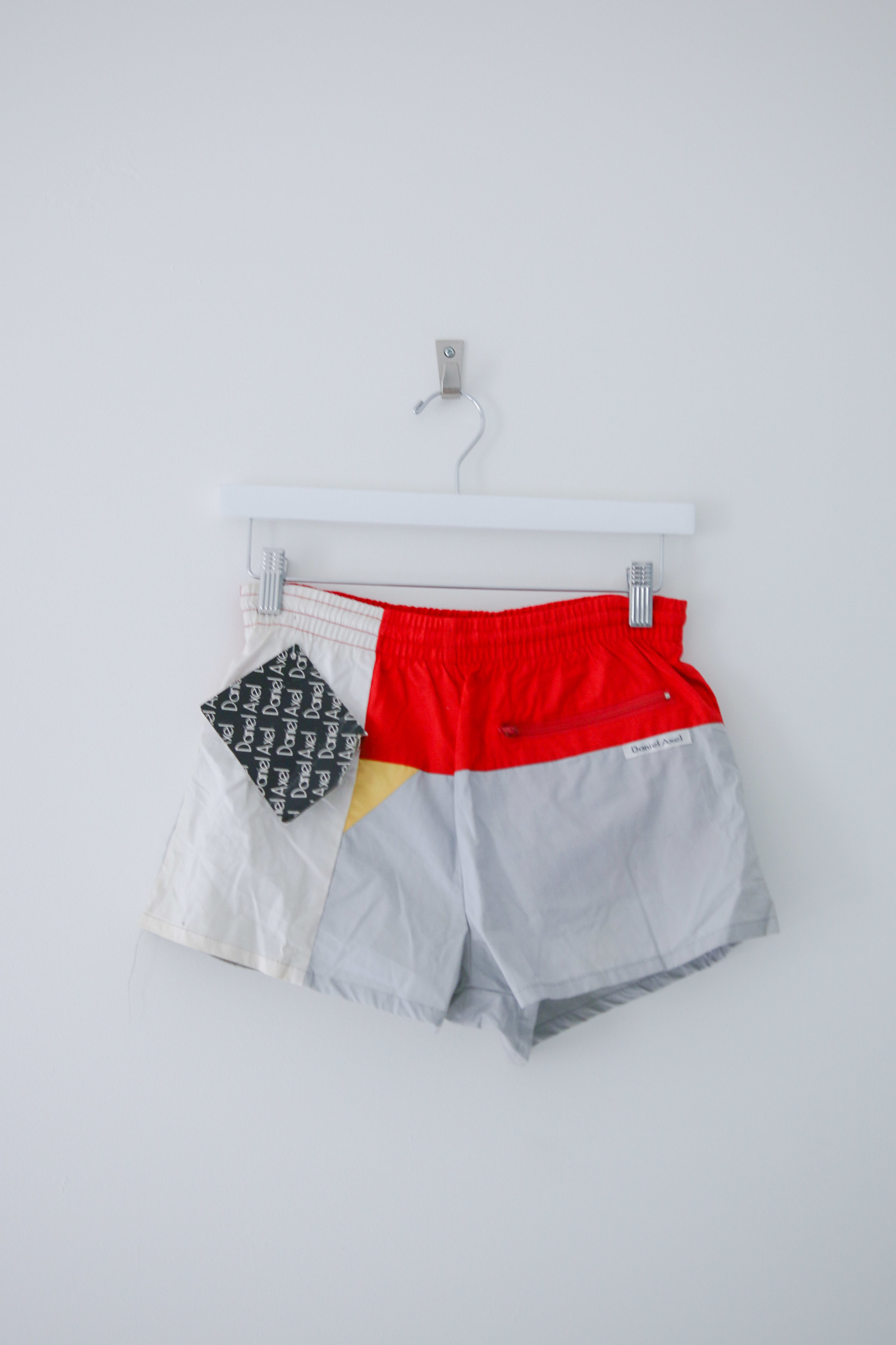 97b5da9672 XS - Daniel Deadstock Swim Shorts - White / Red / Yellow. TCP -  Online-8986.jpg