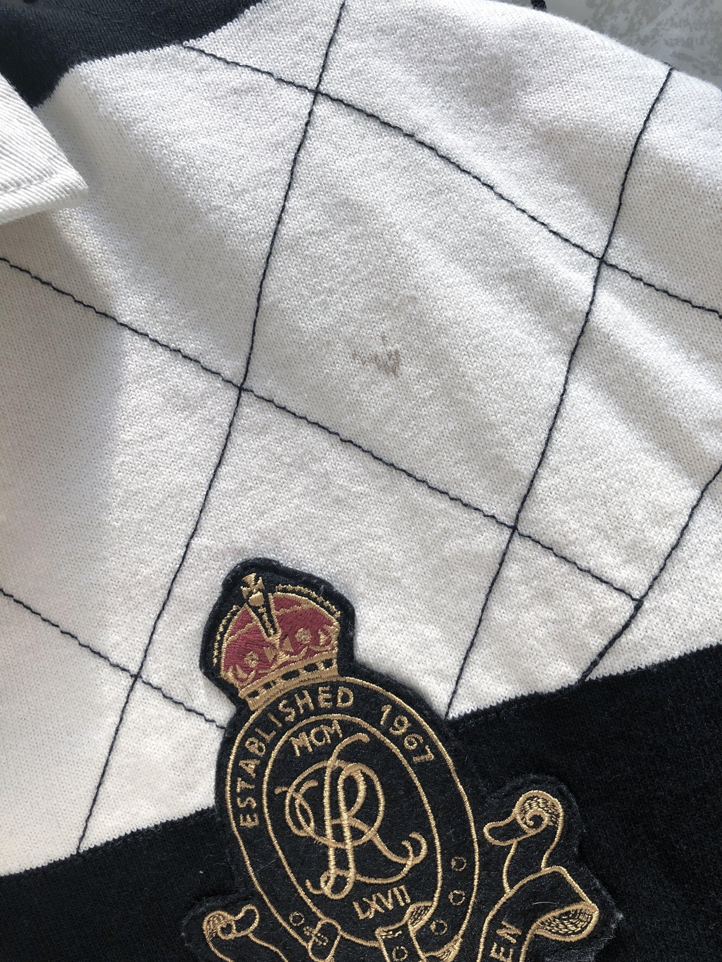 2a036e505 L - Ralph Lauren Block Stripe Rubgy Shirt — THE CONSISTENCY PROJECT