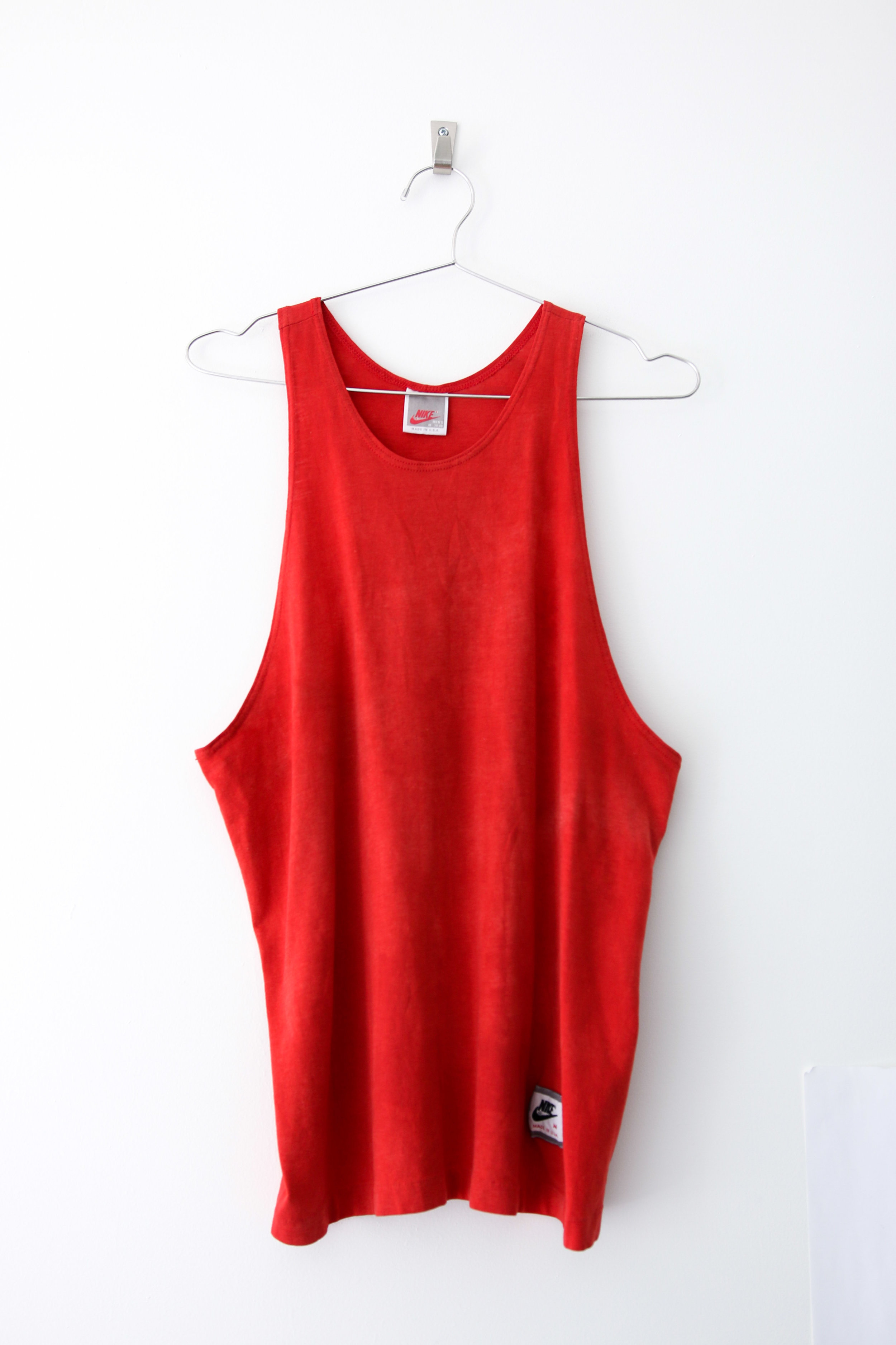 44b2f106c3d3 S   M - Nike Faded Tank - Red — THE CONSISTENCY PROJECT