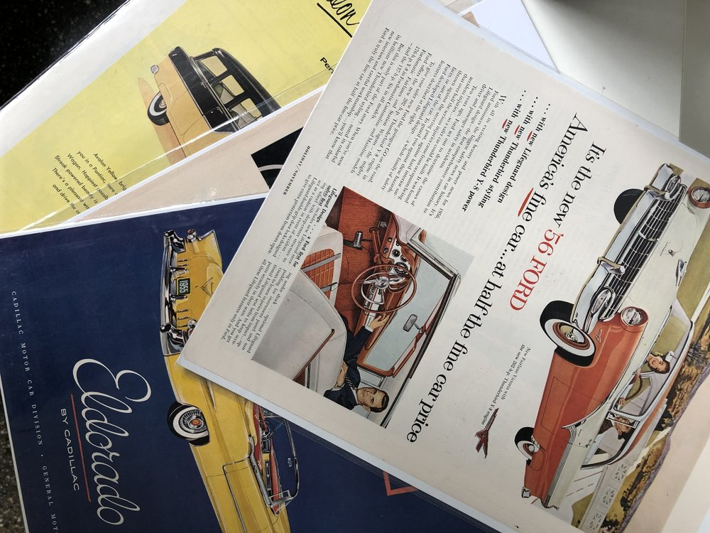 Mix Vintage Magazine Prints, $5 each