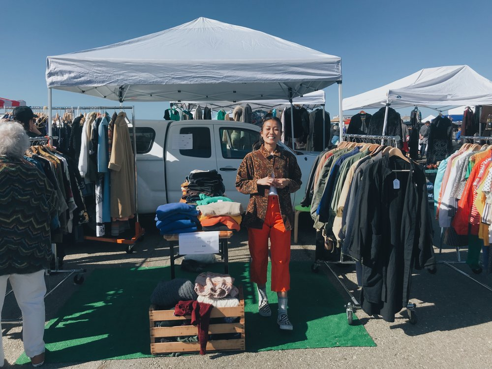 That time I woke up at 4AM to vend at Alameda Flea.