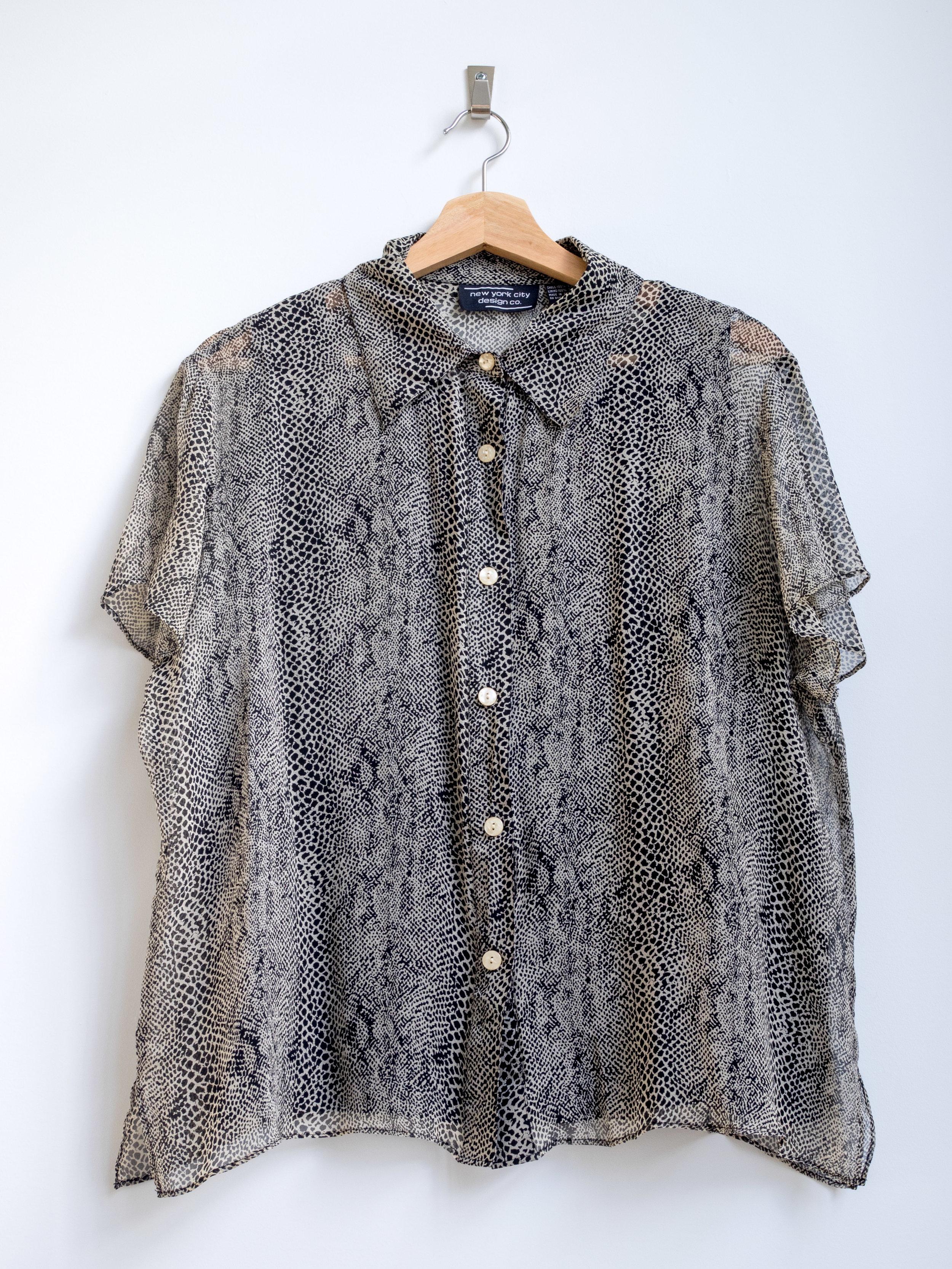 8f64dcdd9083 ... Vintage Silk Animal Print Blouse w/ Tank Lining. TCP-180032.jpg.  TCP-180030.jpg