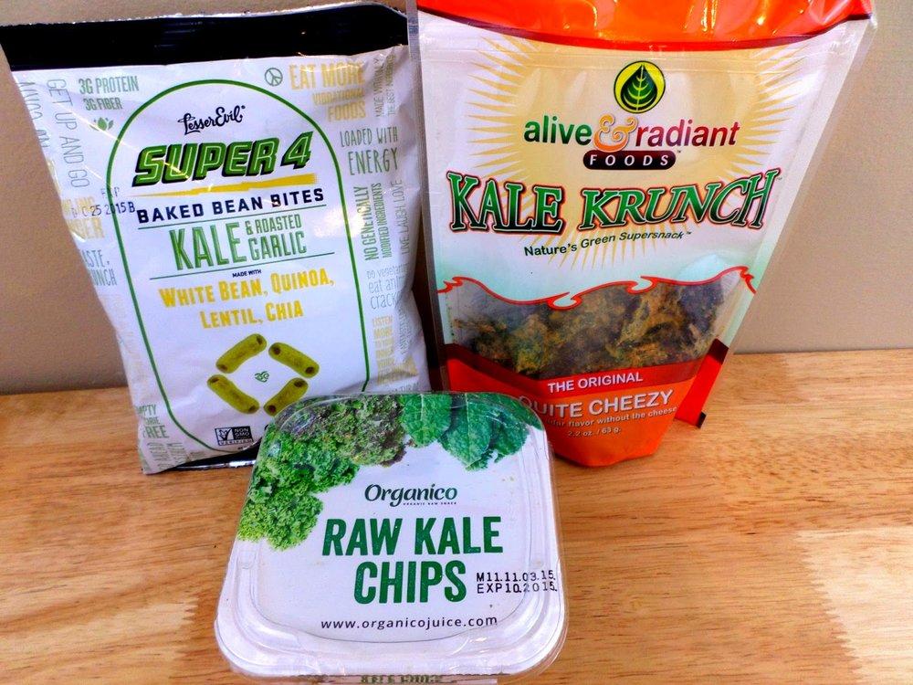 Khale chips