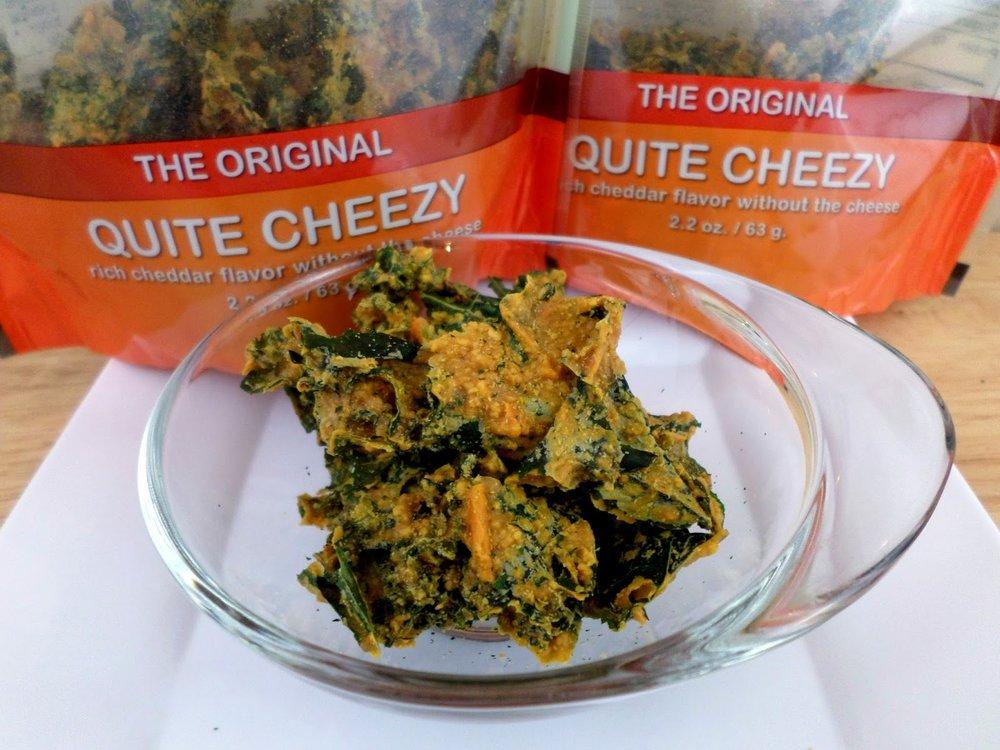 Cheddar flavor khale chips