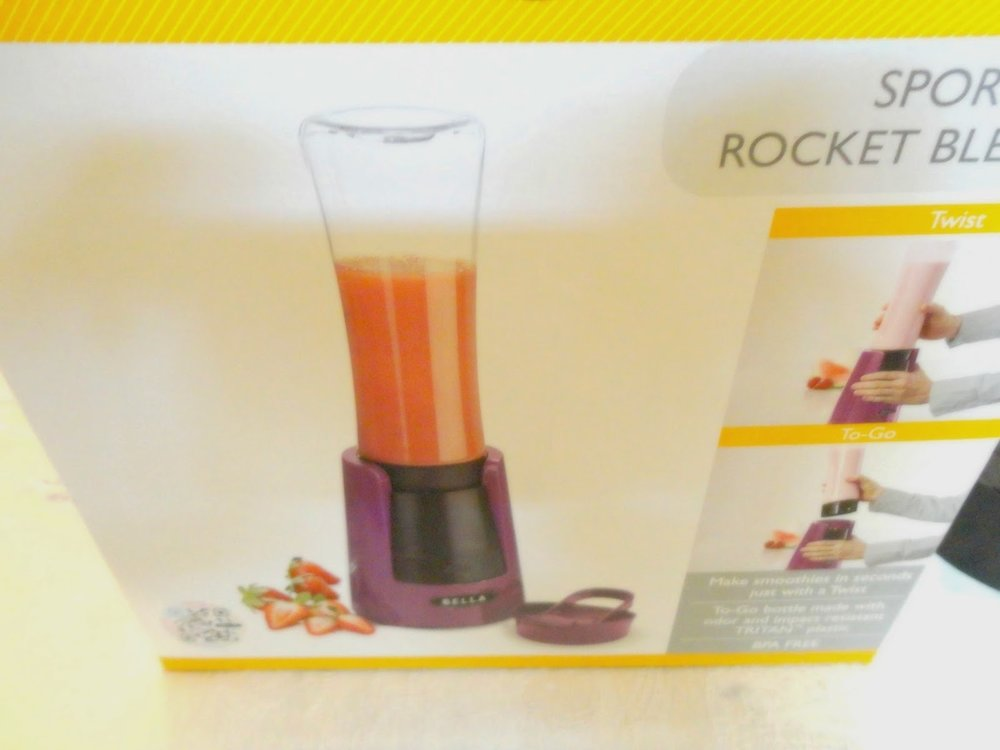 Bella Sport Rocket Blender Review — Closkitchen