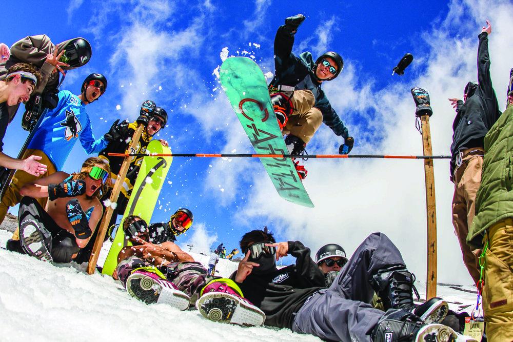 10天成人精品滑雪营