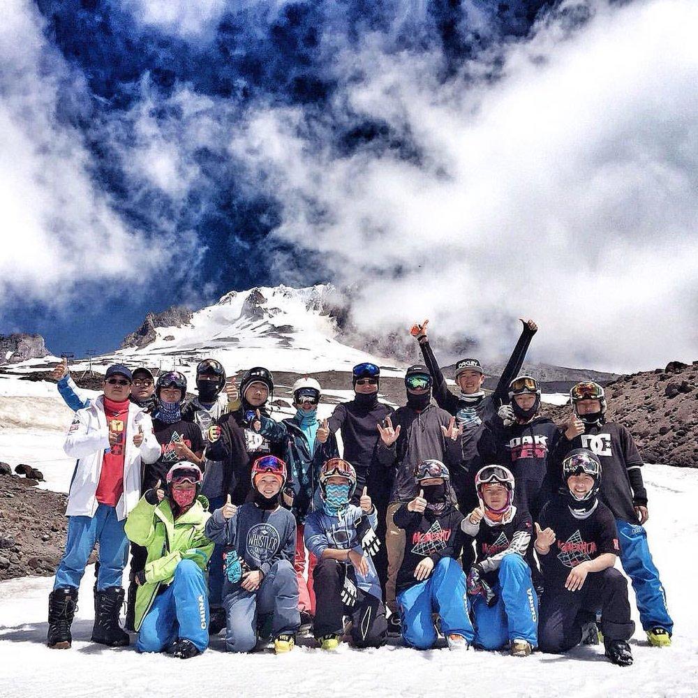 备战奥运, 时刻准备着... - From Chinese Half-Pipe Ski Team.
