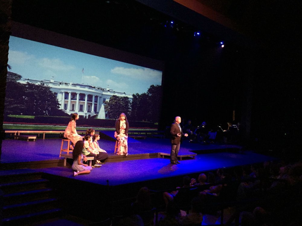 'Take Care Of This House' from 1600 Pennsylvania Avenue 'Children Will Listen' from Into The Woods