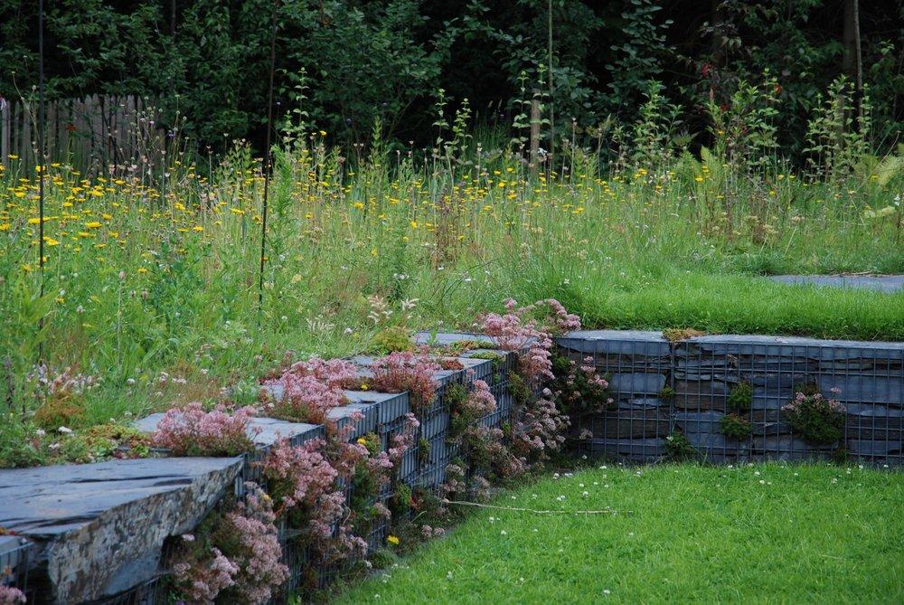 niveauverschillen in de tuin
