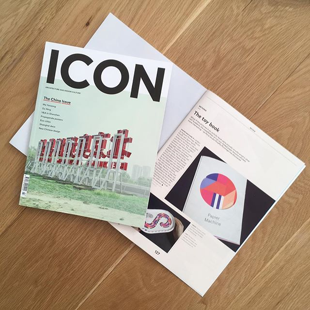Who read @iconeye last month? Papier Machine was in the March issue... if you read it until the end, you may have noticed :) thanks @carloapostoli 🙏🏻 . . . . . #magazine #papertoy #paper #papercraft #architecture #arts #design #electronics #educationaltoys #news #play #learnthroughplay #activitybook #diy #bookish #bookstagram #booklover #paperlicious #stem #steam #stemeducation #iconmagazine #origami #kirigami #kids #colours #designforkids #science
