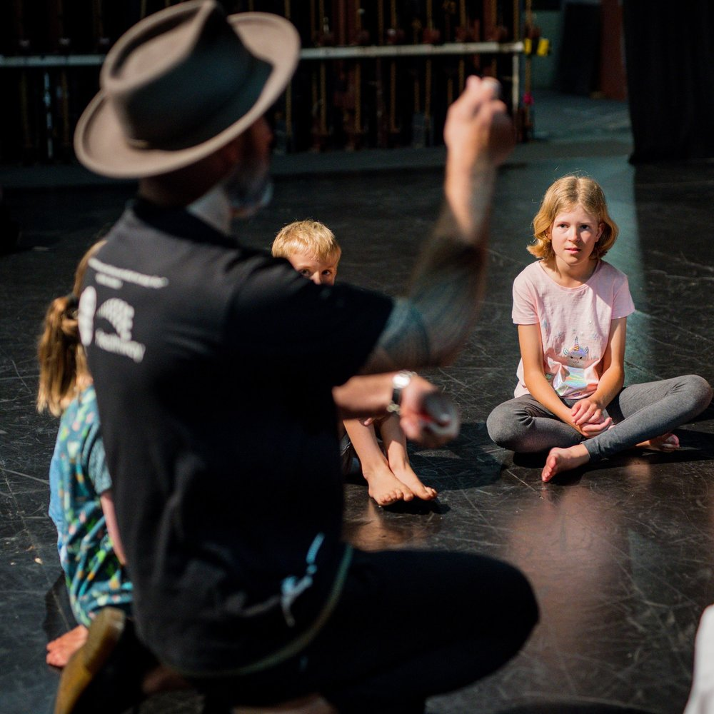 BARKING GECKO   JUNIOR GECKO ENSEMBLE  Young people need spaces where they can find their own voice and explore their own creativity. Gecko Ensembles are weekly drama sessions that take place in a joyful, safe and supportive environment where young people are encouraged to take creative risks and explore the full extent of their expressive potential through drama.  Saturdays 10.30am – 12pm   Suitable for 8-12 yrs   BARKINGGECKO.COM.AU >