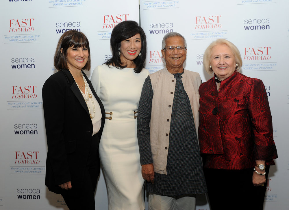 Kim Azzarelli, Andrea Jung, Muhammad Yunus and Melanne Verveer.jpg