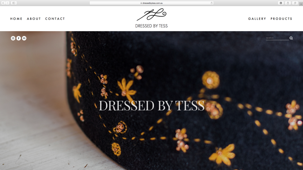Dressed By Tess, Maker of Custom Men's & Women's Hats, Melbourne