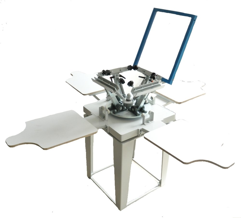 Silk Screen Printing Machine 4 Color -