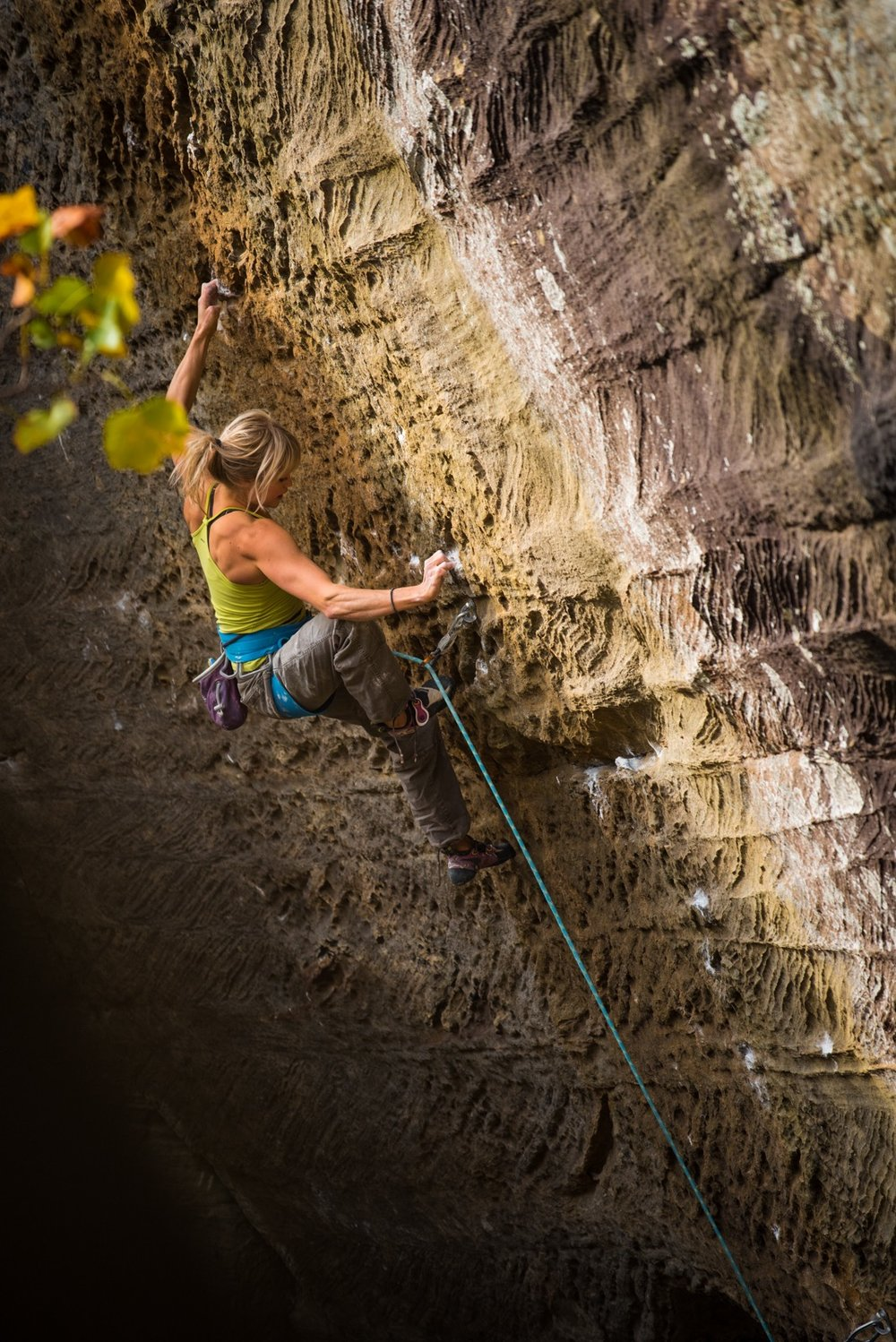 Pure Imagination, 5.14c, Red River Gorge, USA