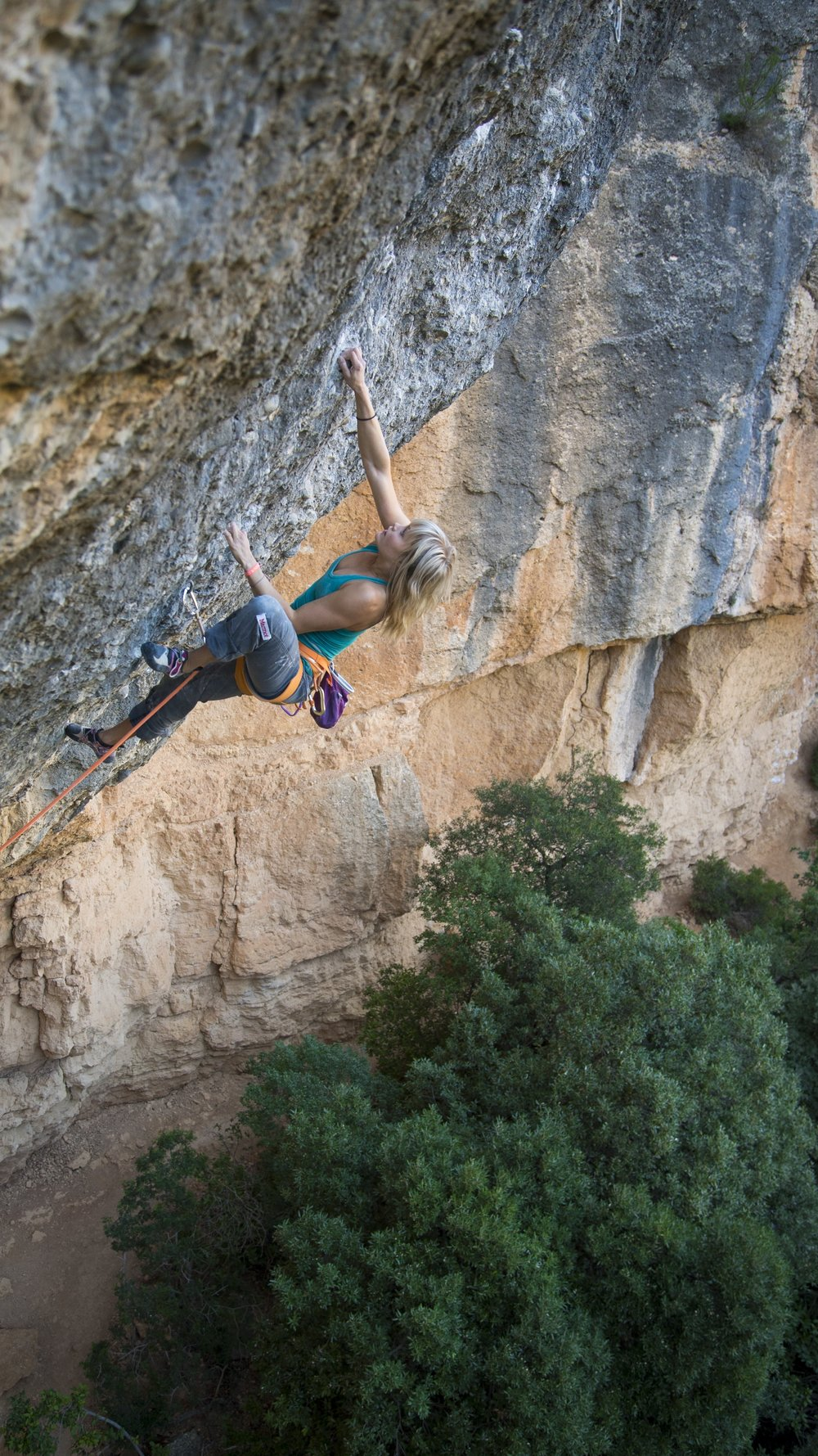 Via del Quim, 8b+, Margalef, Spain