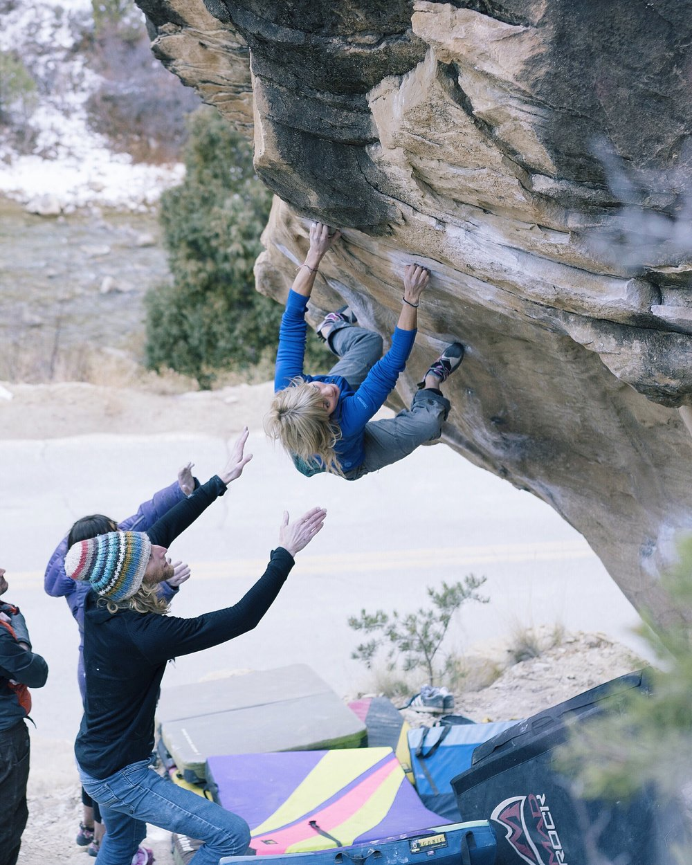 Worst Case Scenario, V9, Joe's Valley, Utah, USA