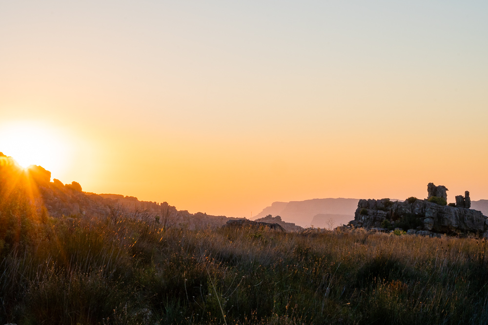 Sunset in Rocklands