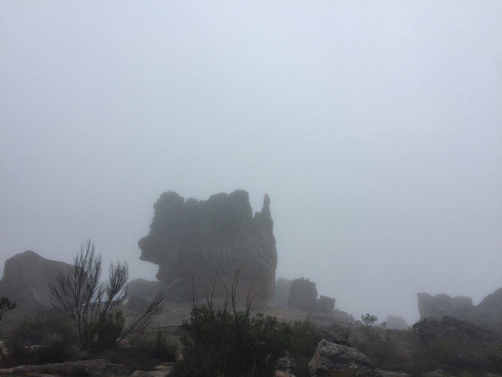 My little rock inside a cloud