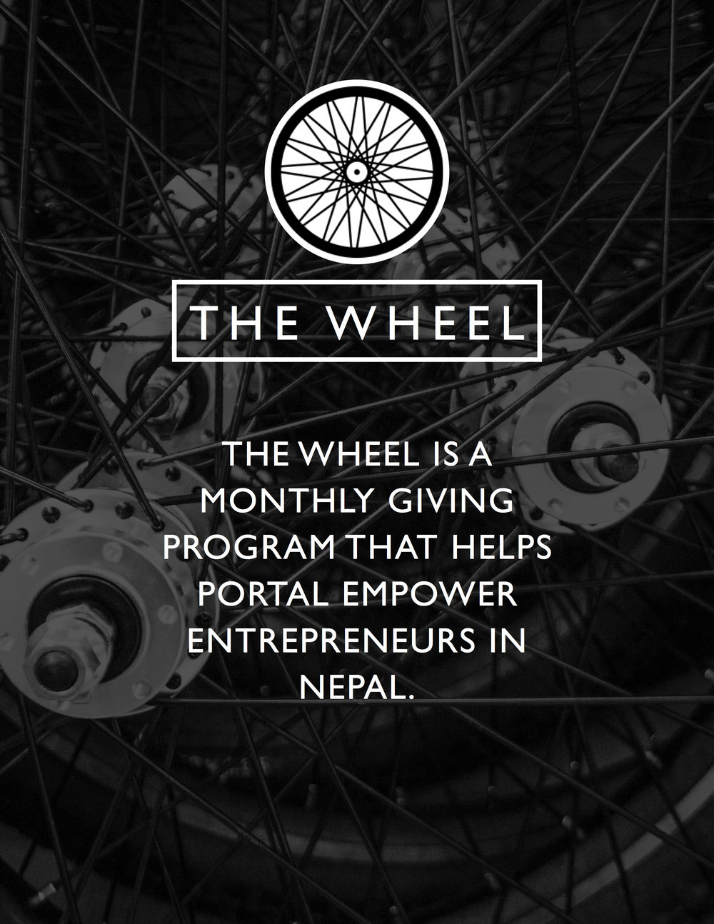 Become a member of The Wheel for exclusive updates and special member schwag.